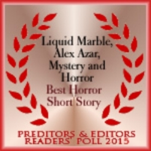 "Award winner ""Best Horror Short Story  2015"""