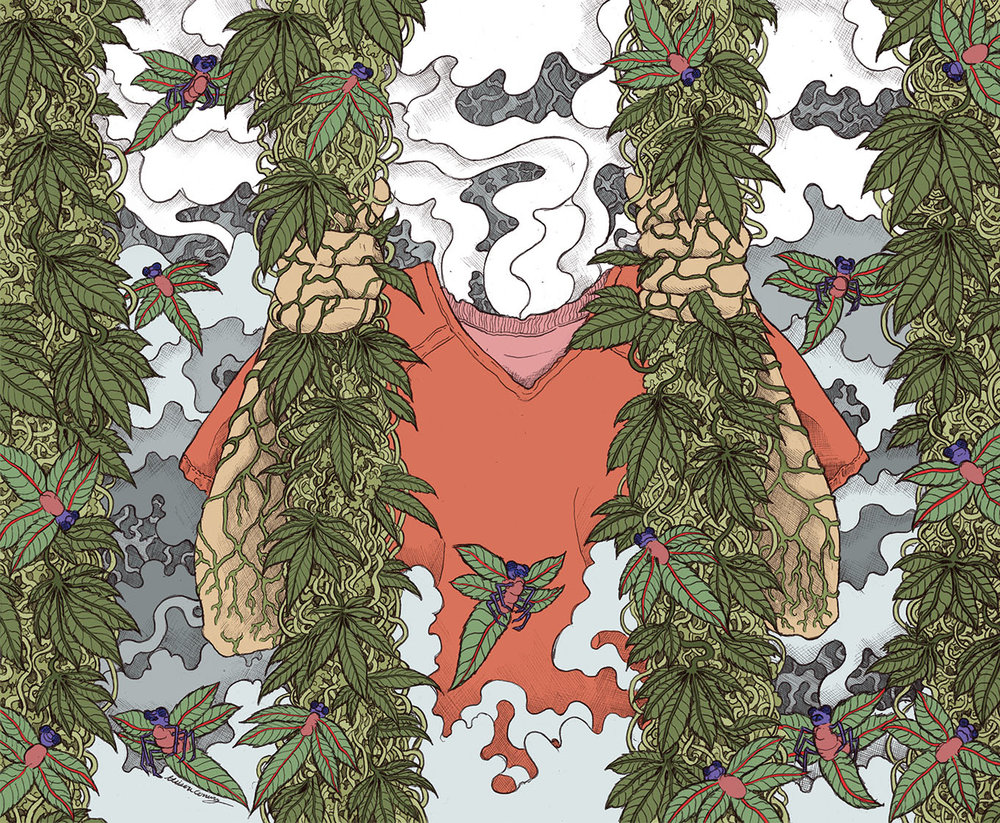 MERRY JANE The Dopest Dope I Ever Smoked in Prison by Seth Ferranti Art Direction by Zach Sokol
