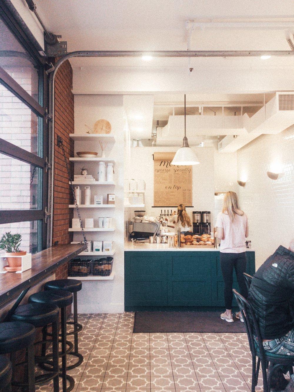 Blue Sparrow Cafe in Denver