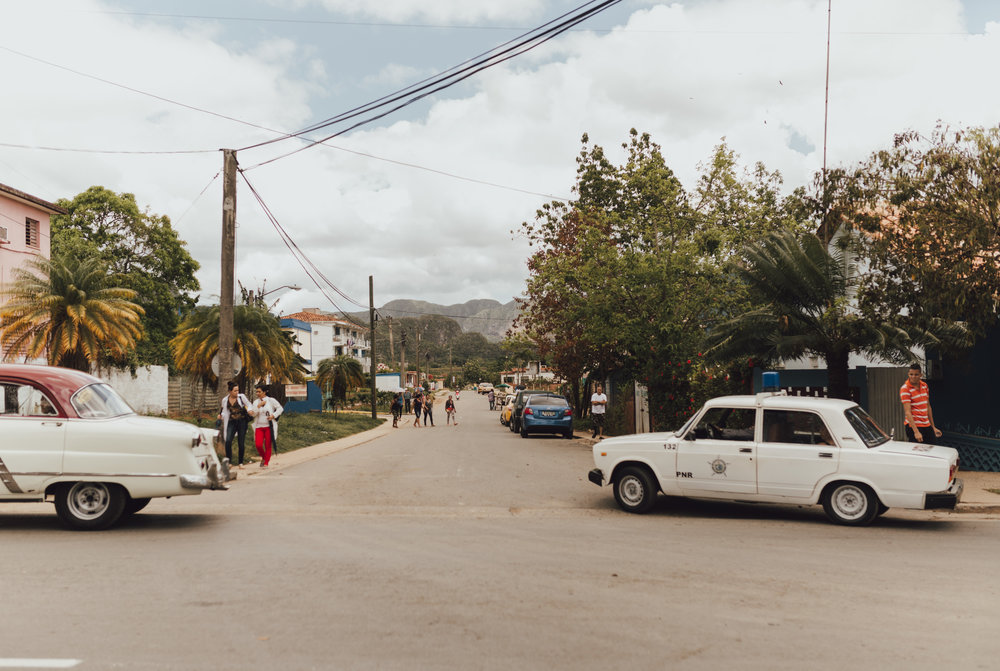 a scene in Cienfuegos