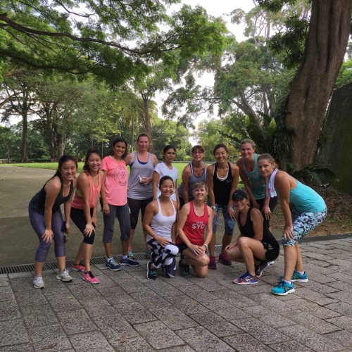 Spent the morning getting to know these women of strength. I love the Singapore fitness community!