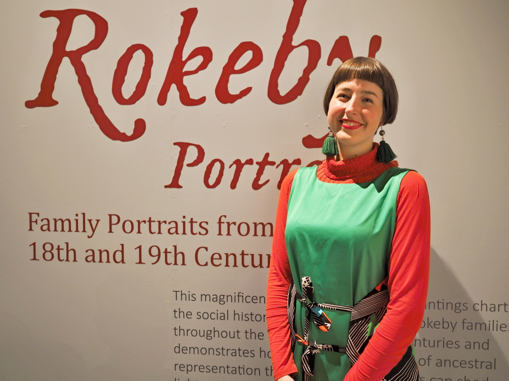 Riah King-Wall, researcher and writer for The Rokeby Portraits