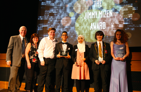Jimmy Mizen Award recipients