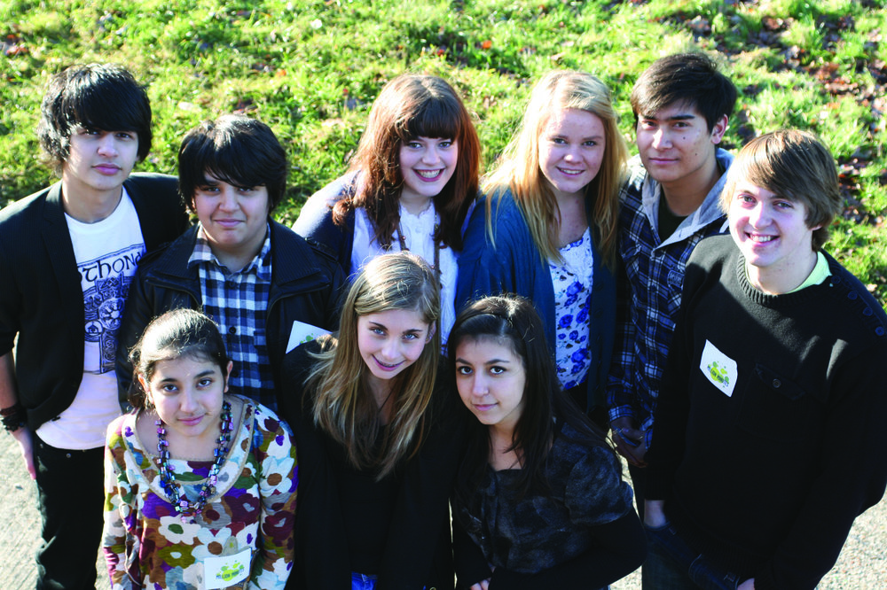 Young people from the `Field of Dreams` programme