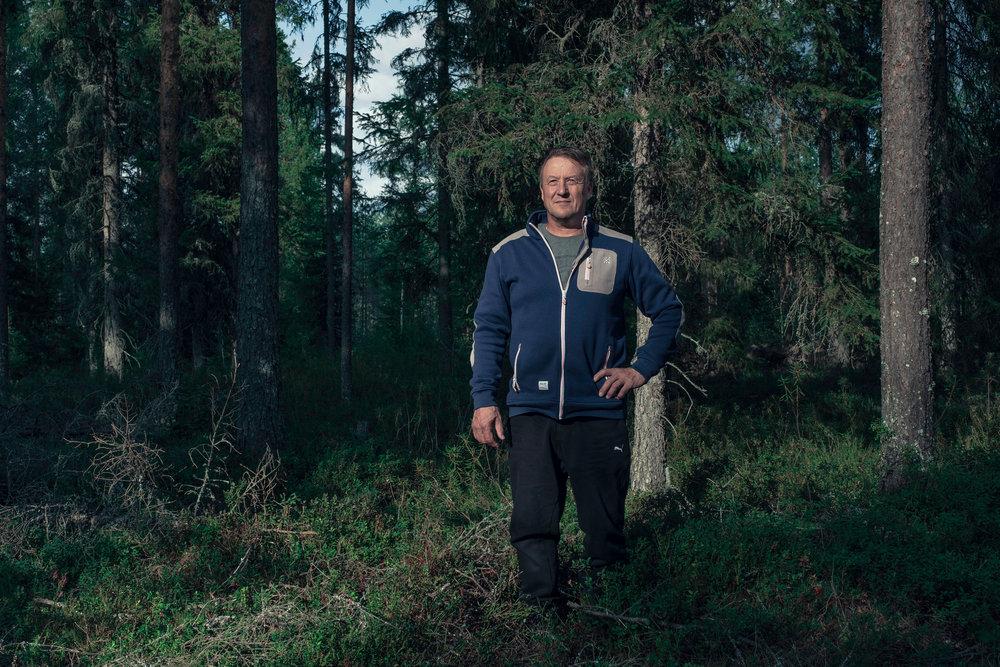 Antti Hintsa  Kuva on Kotini on metsä -projektin Vimpeli sarjasta.