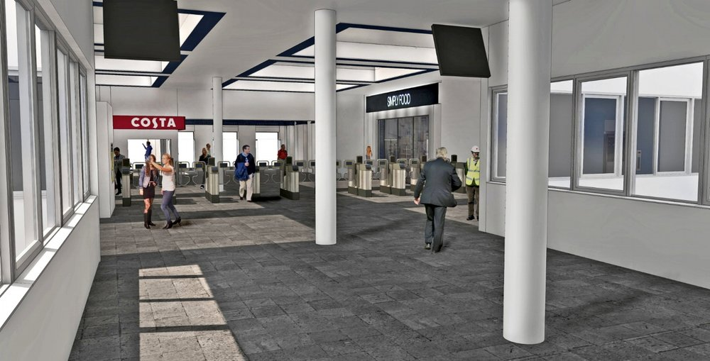 Station refurbishment plan
