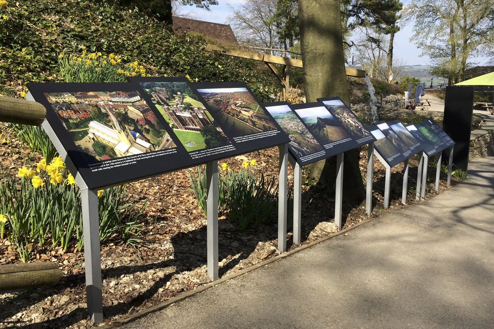 Peak District photo display