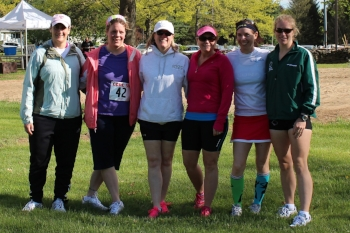 Training partners become forever friends. Catherine, Donna, Lisa, Donna, Colleen, and Shelly