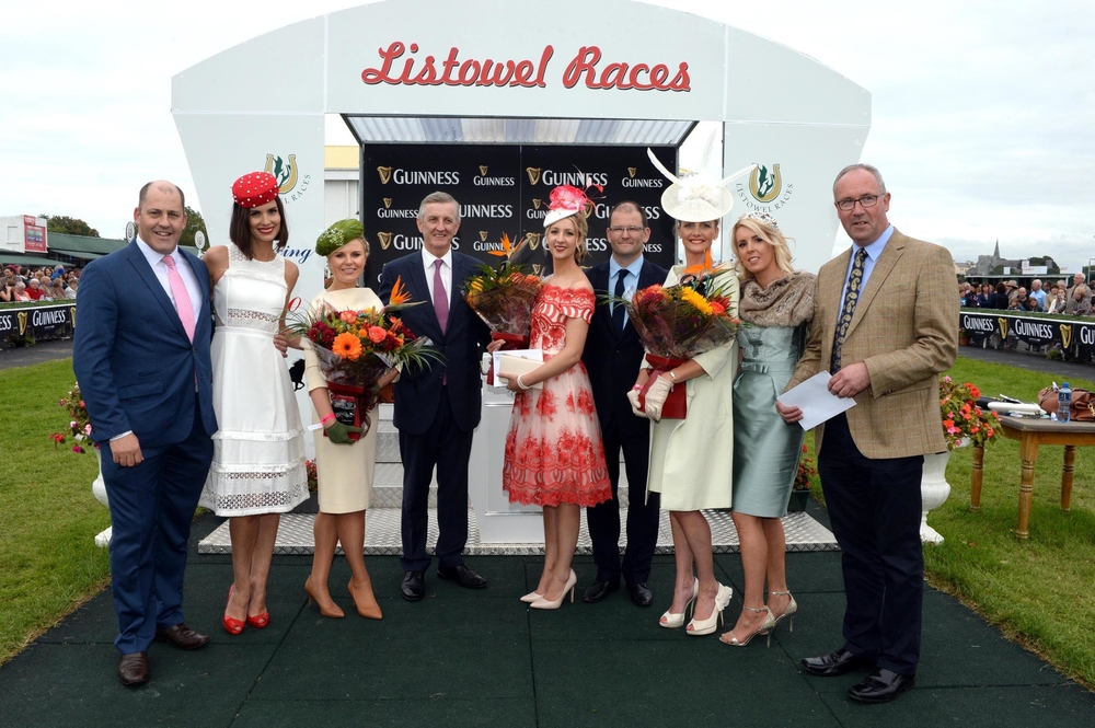 Finalists in the McElligotts Honda Listowel Races Ladies Day 2015. PR: Orla Diffily. Pix: Don MacMonagle.