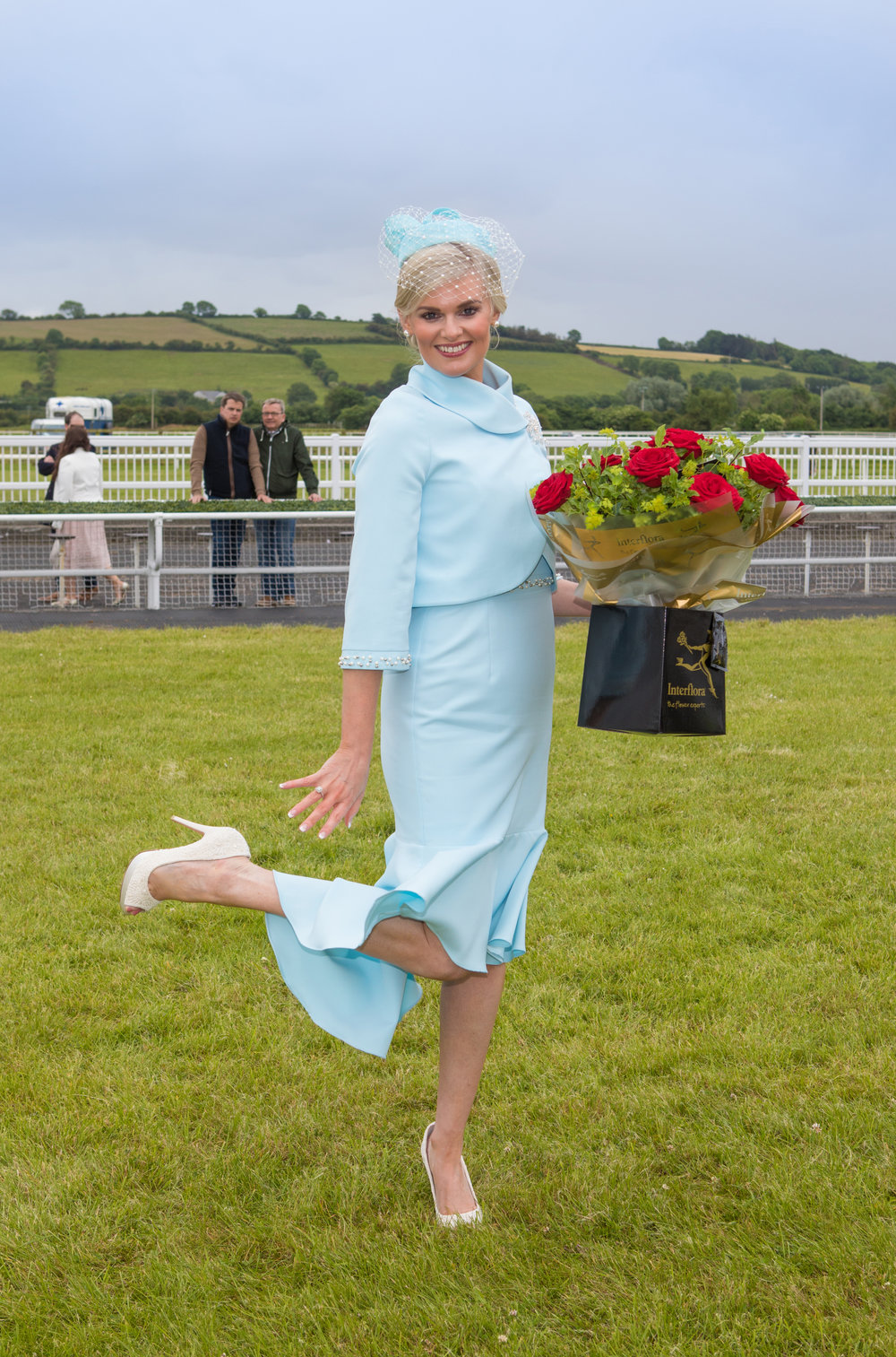 Winner Best Dressed Lady : Margaret Hynes Cahill. Pix John Kelliher