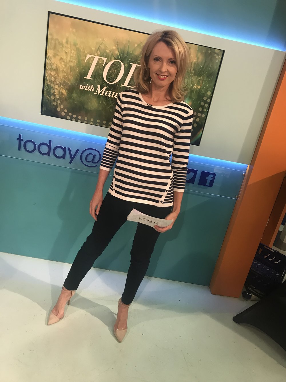 Giving it Stripes ! Loved my Paco Jumper (Just Elegance range - sizes 12 - 22)