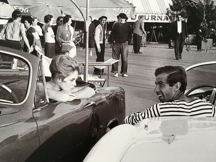 Brigitte Bardot & Roger Vadim in St Tropez Credit : Michou Simon