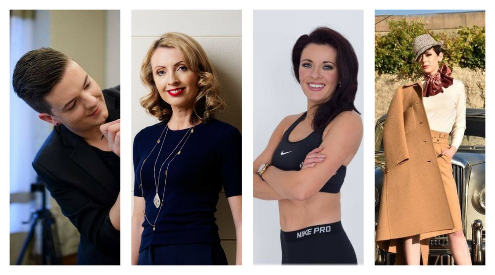 Join top make up artist  Anthony O'Sullivan , RTE stylist  Orla Diffily,  top model  Grace Madden  and personal trainer and model  Jennifer O'Driscoll