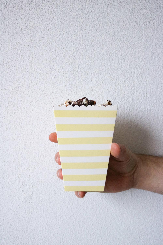 Popcorn box from  Sostrene Grene