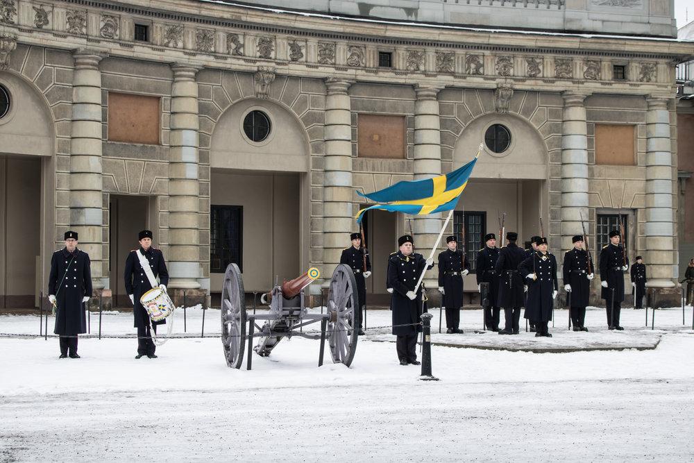 Guards Change Stockholm