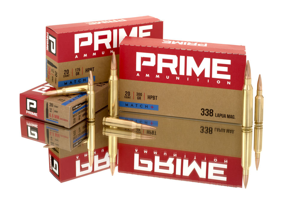 PRIME rifle ammunition selection!
