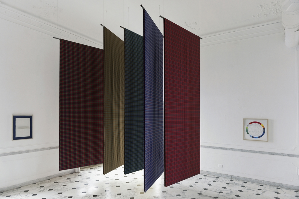 The Warp And e Weft, Installation View, Villa Croce, Genova
