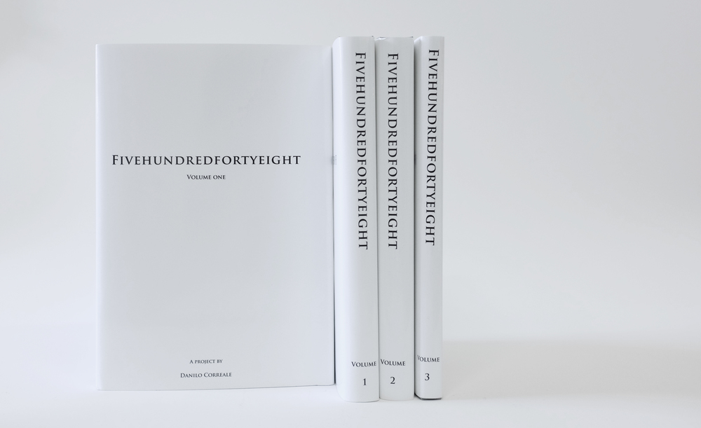 Fivehundredforthyeight / Artist book, limited edition of 48, signed, 2016