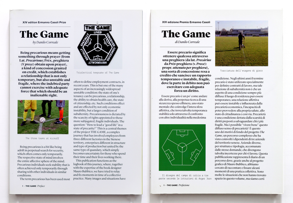 THE GAME, Artist Book, 2014