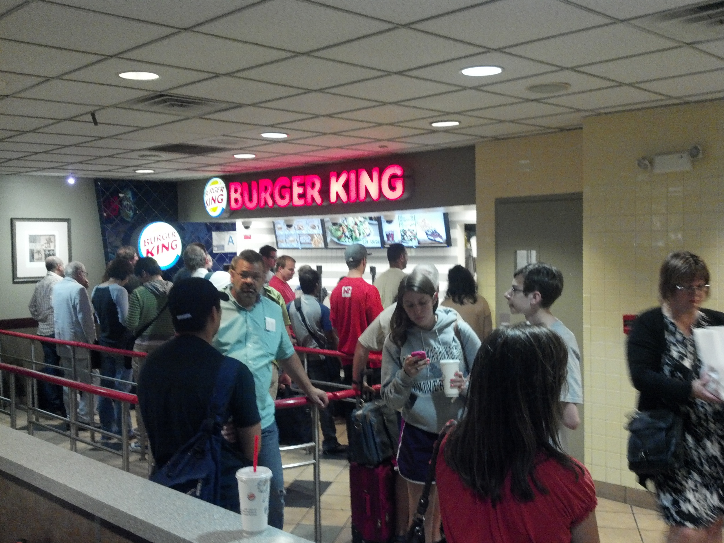 The Burger King Wait