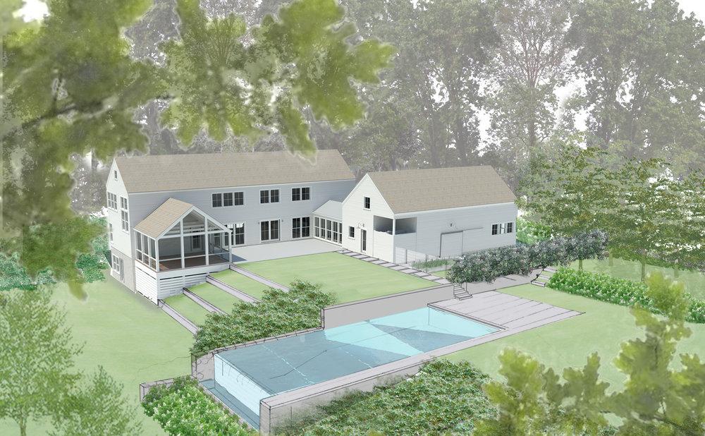 Rev House sippewissett bernice wahler landscapes