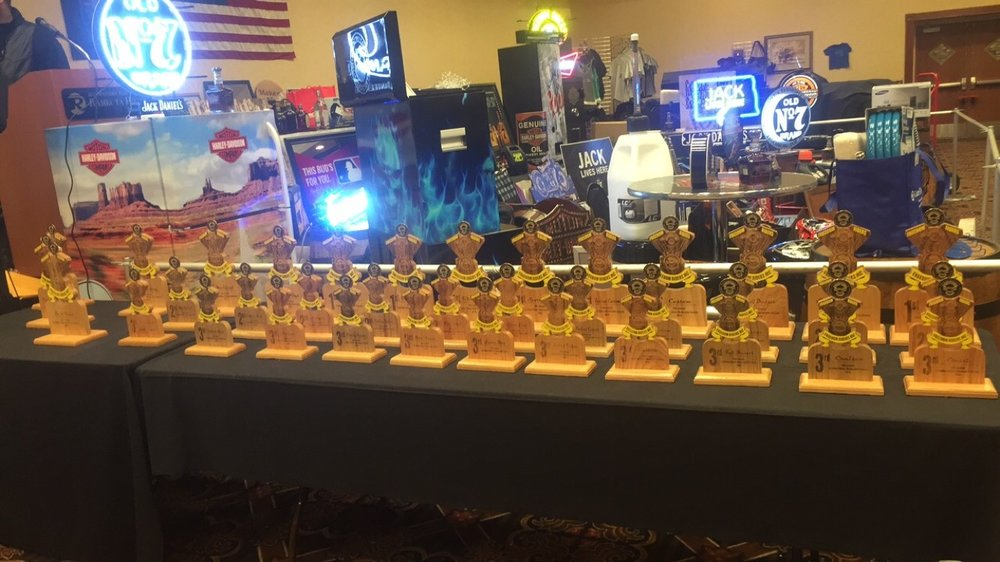 Bike Show Trophy's