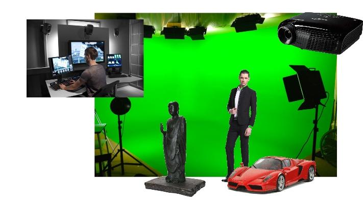 Studio hologramme