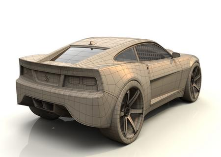 voiture 3d