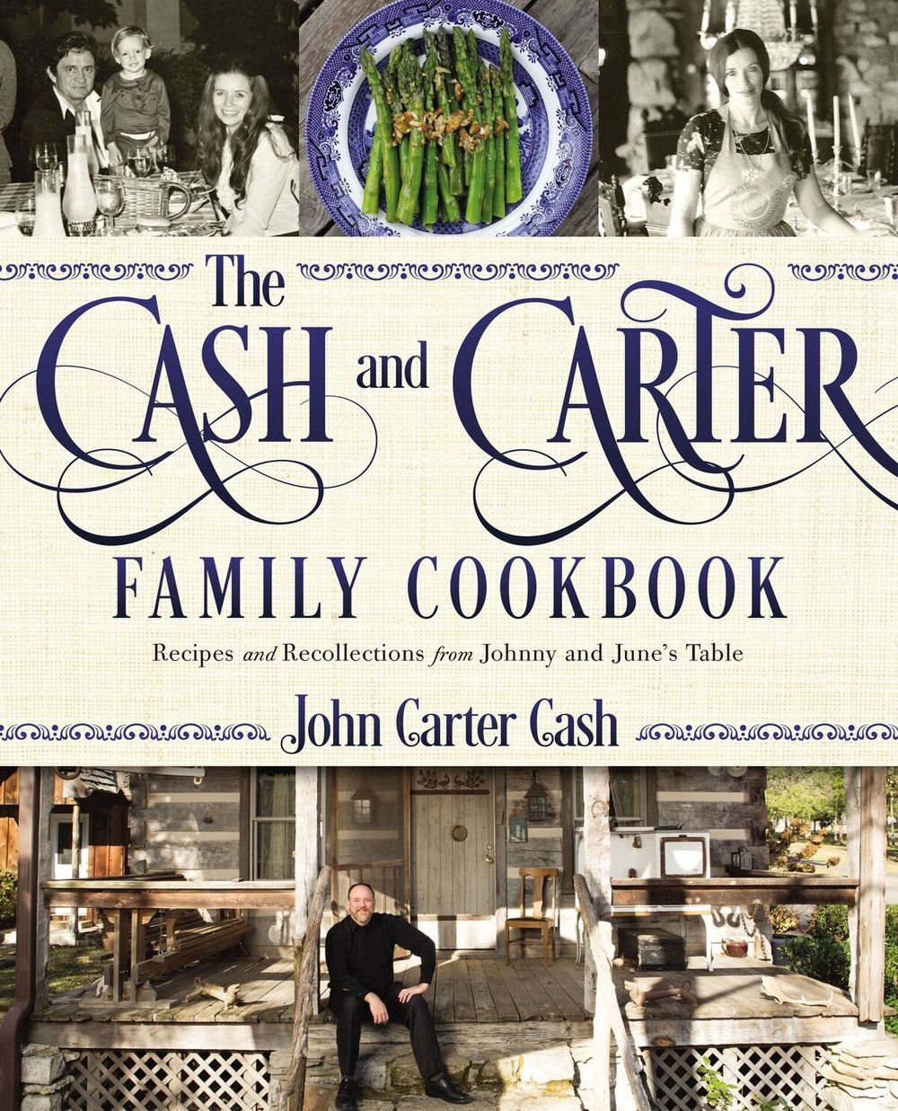 The Cash and Carter Family Cookbook: Recipes and Recollections from Johnny and June's Table   Download Cover Art  Here