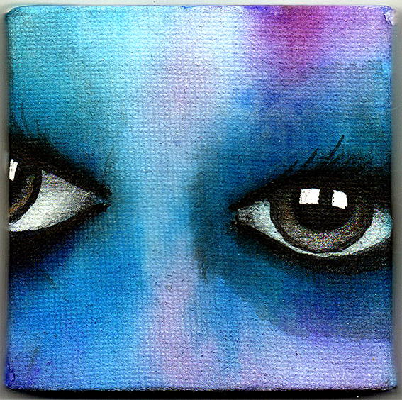 Eyes Mini Canvas