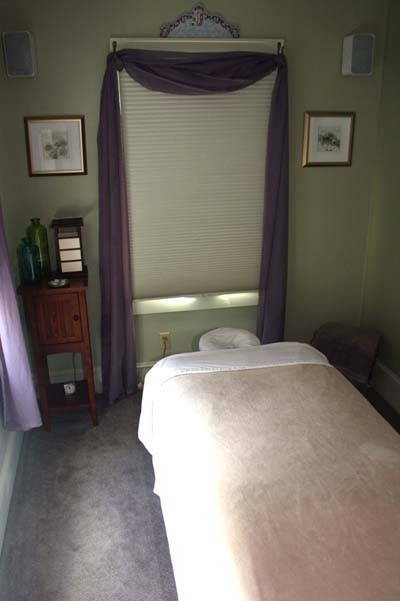 The Wellness Center Massage Room