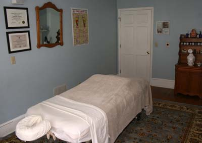The Wellness Center Massage Room