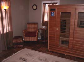 The Wellness Center Infrared Sauna