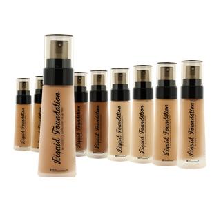 beginners makeup kit, chrissy woods, bh cosmetics, foundation, beginners makeup