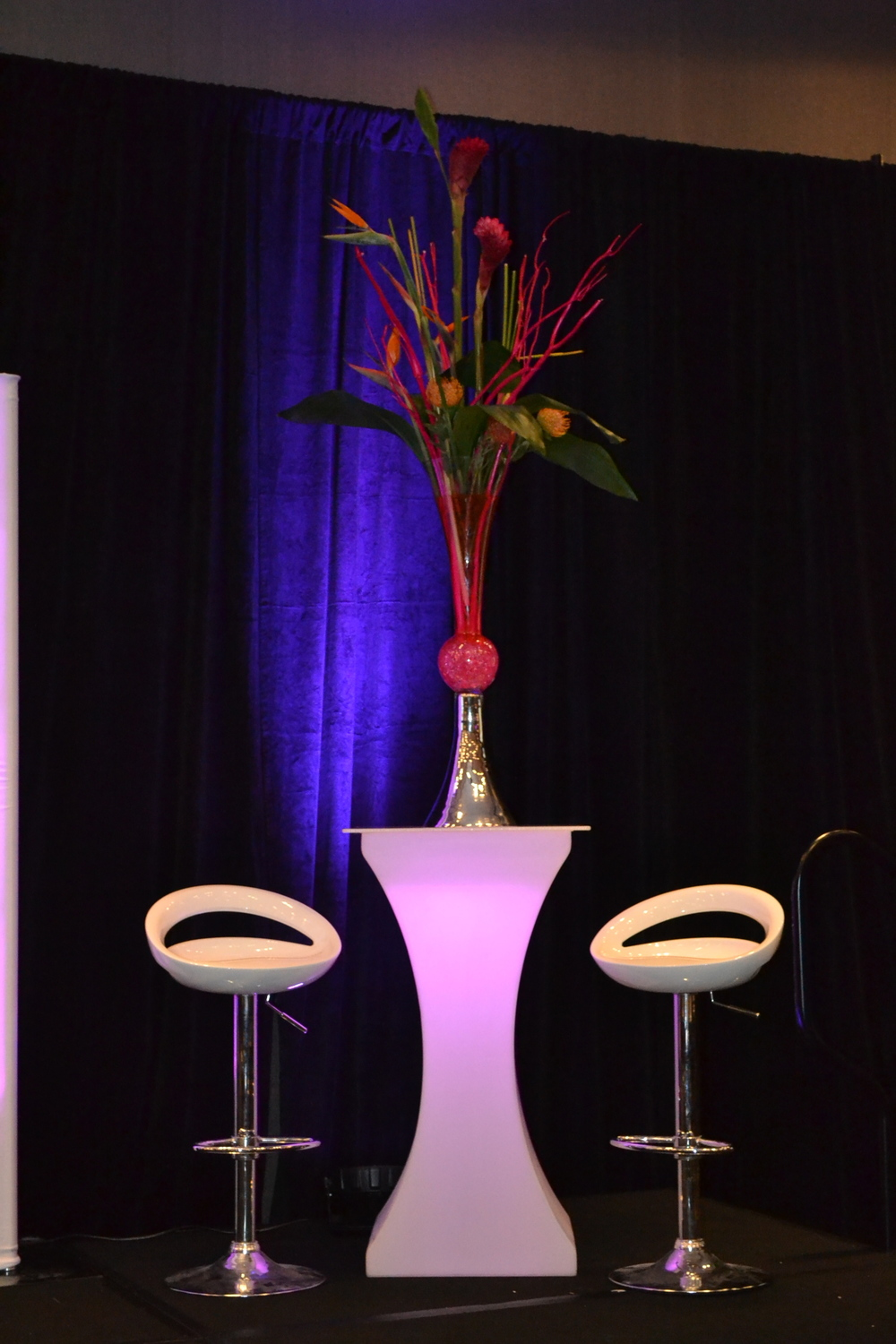 Lisa Nicole Cloud's Women's Empowerment Conference, Event furnishings and decor