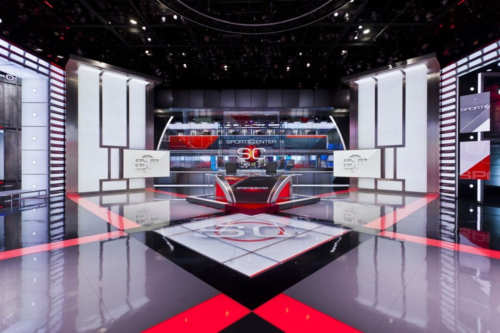 ESPN Set Design Jack Morton