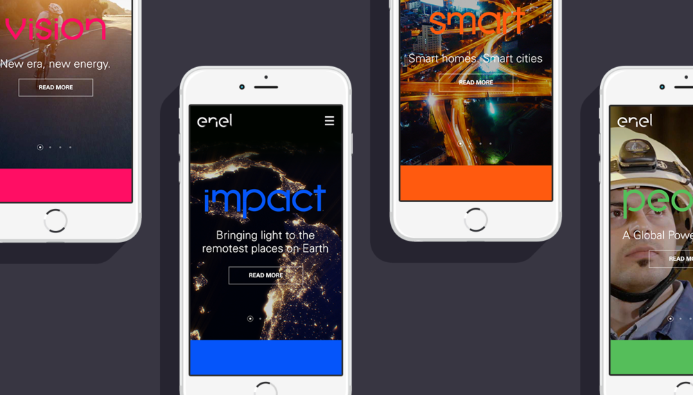 Enel App and Huge