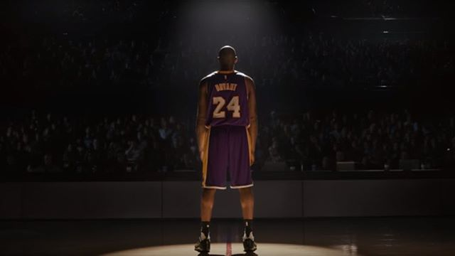 Nike and Portland's finest Wieden + Kennedy team up for Kobe's tribute 📽 💻www.Portelo.co #FarewellKobe #advertising #commercials