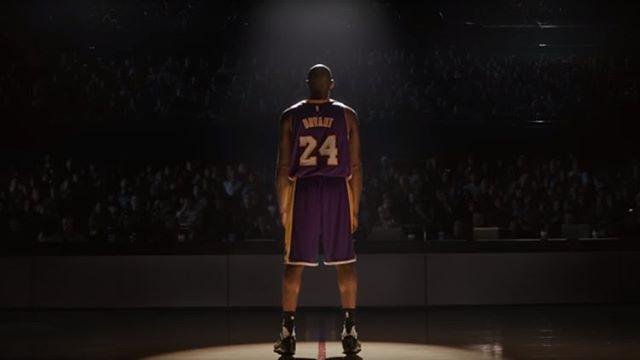 Nike and Portland's finest Wieden + Kennedy team up for Kobe's tribute 📽 💻www.Portelo.co #FarewellKobe #advertising #commercials