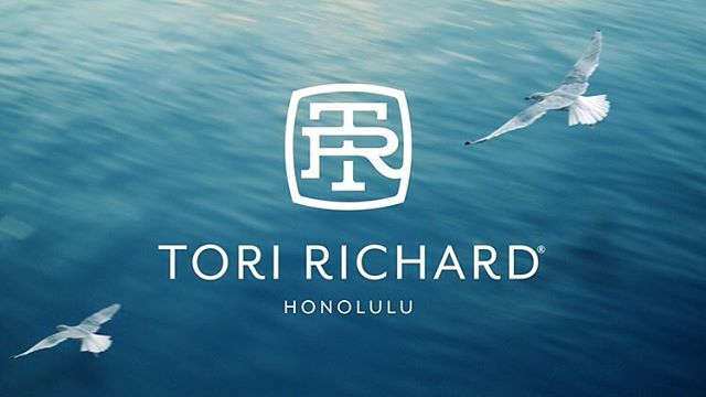 A 60 year old brand Tori Richard gets an overhaul by Wall-To-Wall 💻www.portelo.co #branding #logodesign #brand #agency #walltowall #brandidentity #design