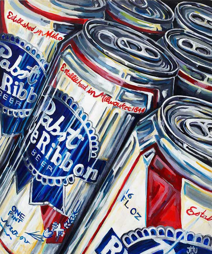 Pabst Blue Ribbon Artist