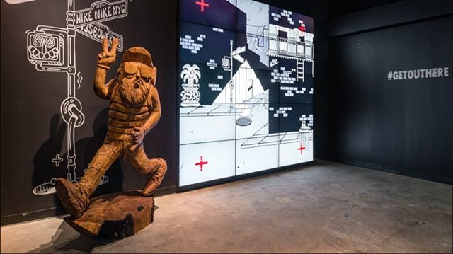 Nike Hike New York by creative agency Leg Work out of Boulder, Co.  #Nike #Hike #interiordesign #RetailBuildput #LegWork