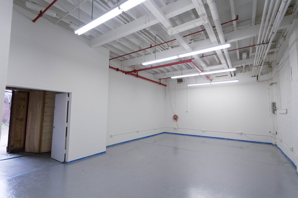 The main electronics and hardware production space was recoated and new electrical work has been done.