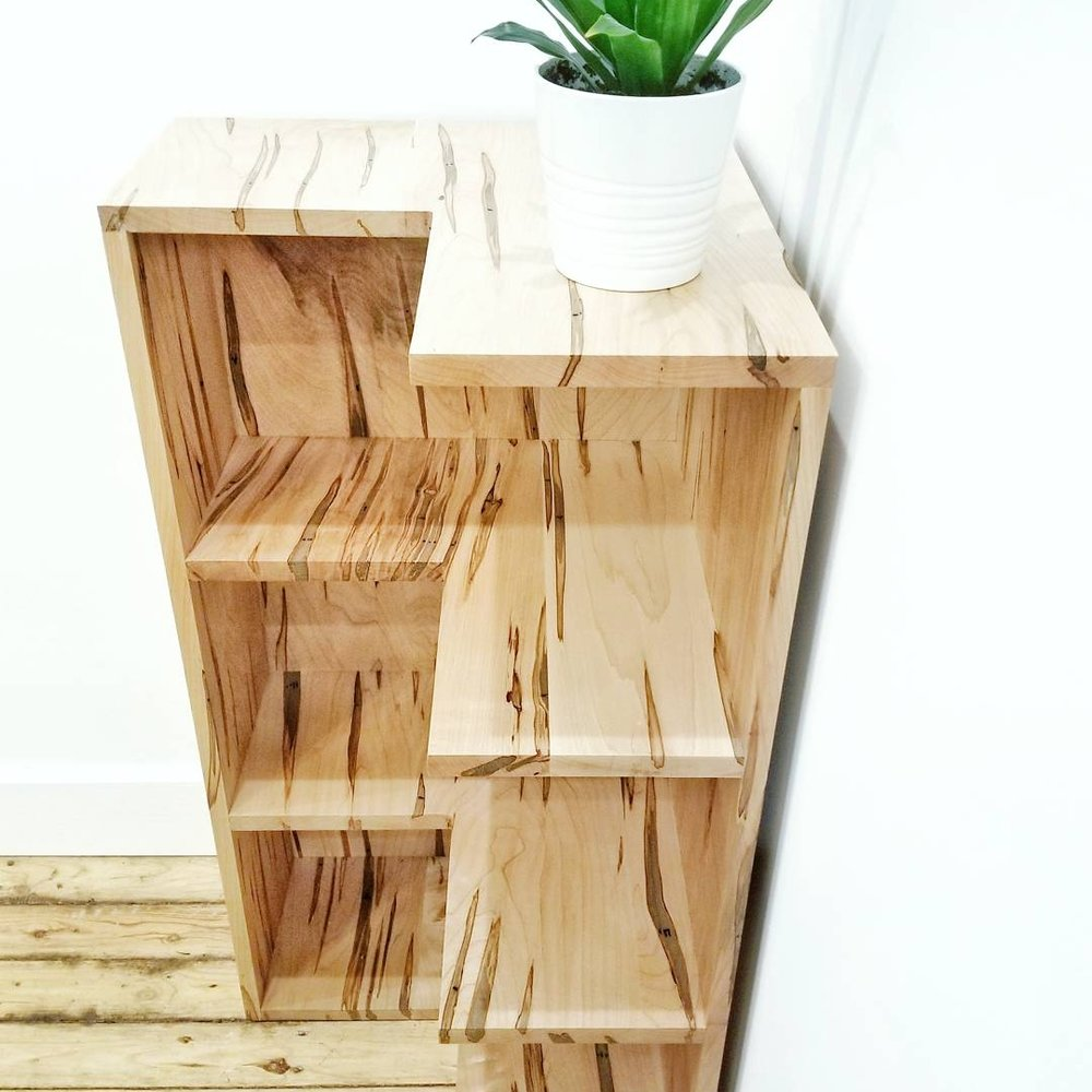 Ambrosia Maple Bookshelf