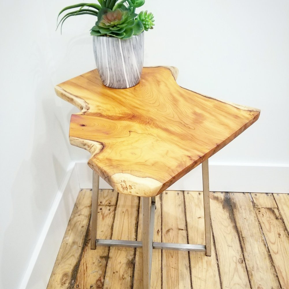 Pacific Yew Side Table
