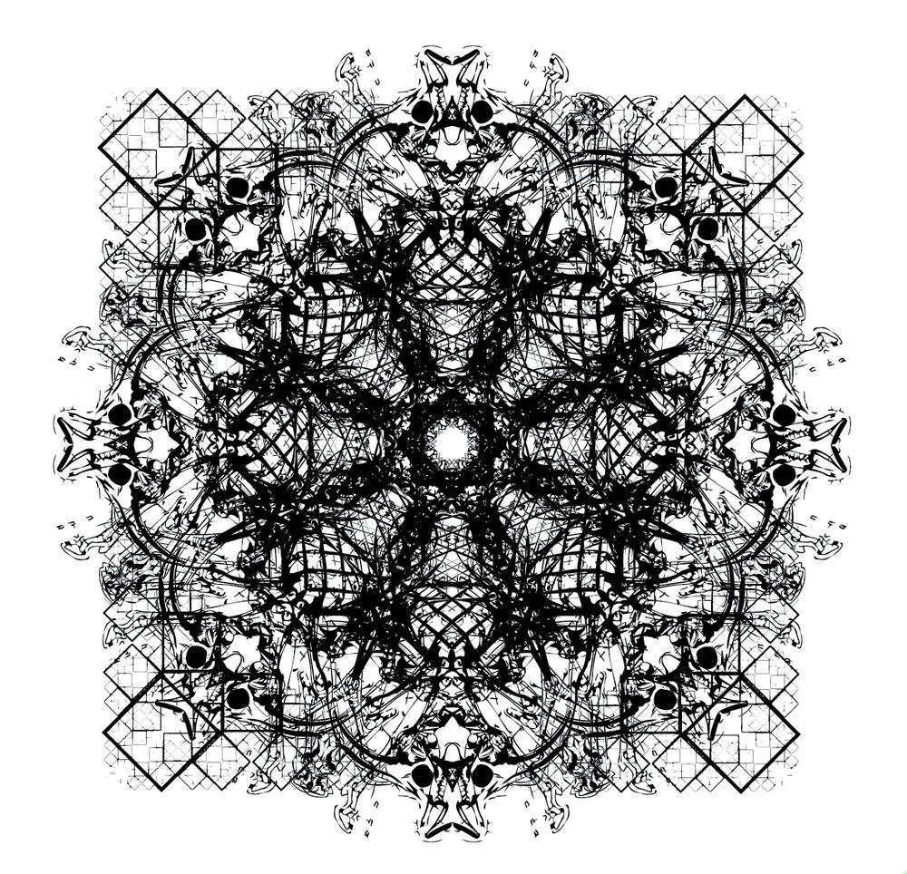 Experimental Bones/Geometric Collage #1