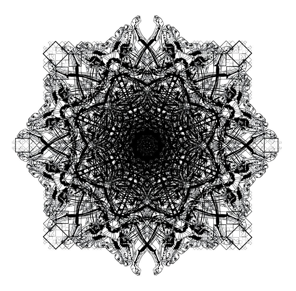 Experimental Bones/Geometric Collage #2