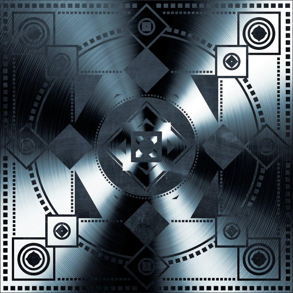 Metallic Geometric Design