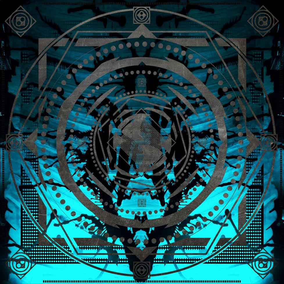 Aqua Geometric Design