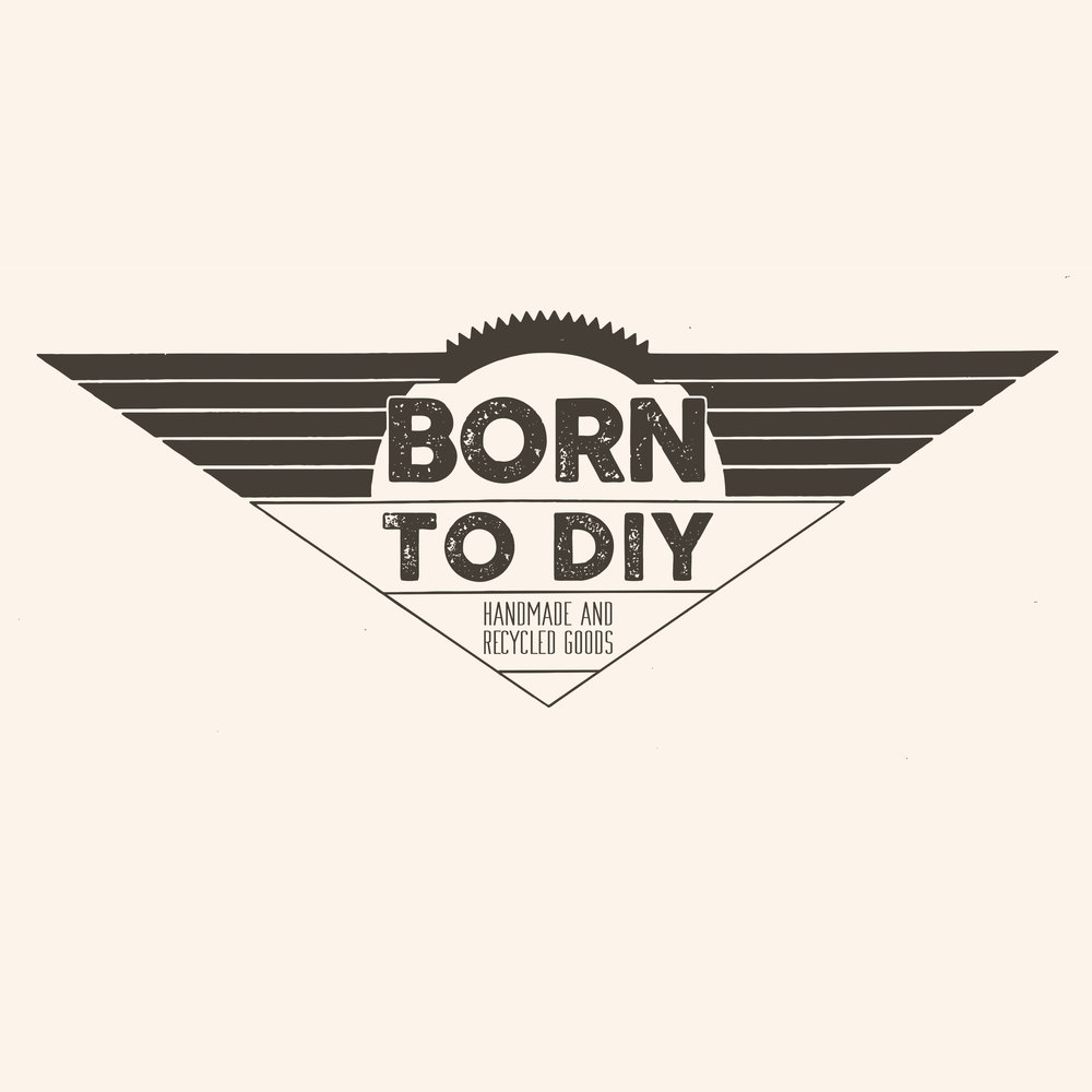 Logo For Born To DIY Handmade Crafts
